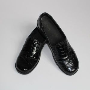 Clarks Black Patent Leather Shoes